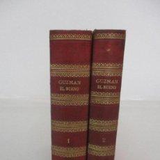 Libros antiguos: GUZMÁN EL BUENO - RAMÓN ORTEGA Y FRÍAS - 2 TOMOS - DIEGO MURCIA, EDITORES - ILUSTRADA - AÑO 1884. Lote 90974660