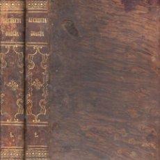Libros antiguos: M. FERNÁNDEZ Y GONZÁLEZ : LUCRECIA BORGIA - MEMORIAS DE SATANÁS - DOS TOMOS (MANINI, 1864). Lote 91747660