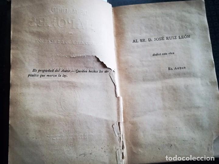 Libros antiguos: DE MADRID A NÁPOLES, Madrid, Sucesores de Ribadeneira, 1894. De Pedro Antonio de Alarcón. - Foto 2 - 93395375