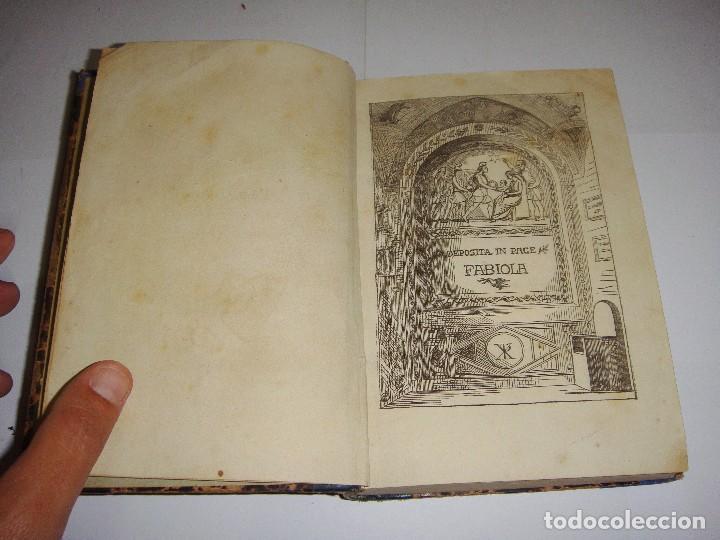 Libros antiguos: Fabiola o La Iglesia de las Catacumbas. El Cardenal Wiseman. 1870 - Foto 2 - 94062310