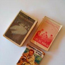 Libros antiguos: LOTE DE 3 LIBROS ANTIGUOS. Lote 95000219