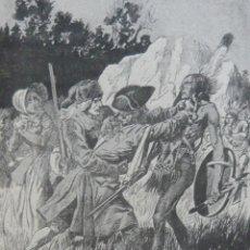 Libros antiguos: 1900 - FENIMORE COOPER: LA PRADERA - NOVELA HISTÓRICA ILUSTRADA - LITERATURA AMERICANA - PLENA PIEL. Lote 113881270