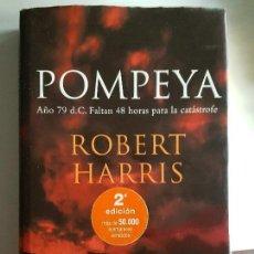 Libros antiguos: POMPEYA DE ROBERT HARRIS. Lote 97262235