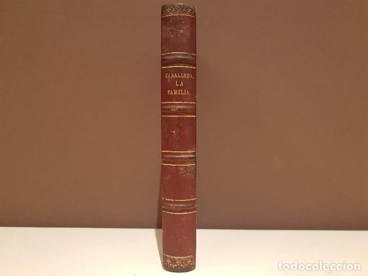 Libros antiguos: FERNAN CABALLERO, LA FAMILIA DE ALVAREDA Y LAGRIMAS. LEIPZIG: F.A. BROCKHAUS, 1864. - Foto 2 - 97964339