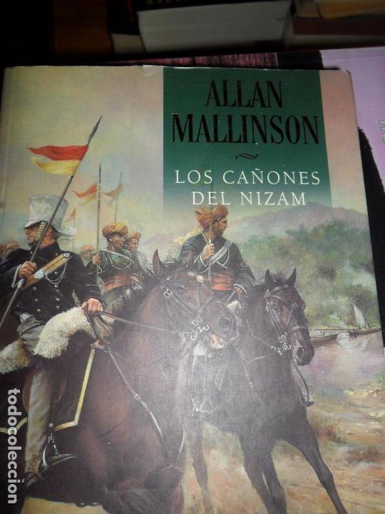 LOS CAÑONES DE NIZAM, ALLAN MALLISON, ED. PLAZA Y JANÉS (Libros antiguos (hasta 1936), raros y curiosos - Literatura - Narrativa - Novela Histórica)