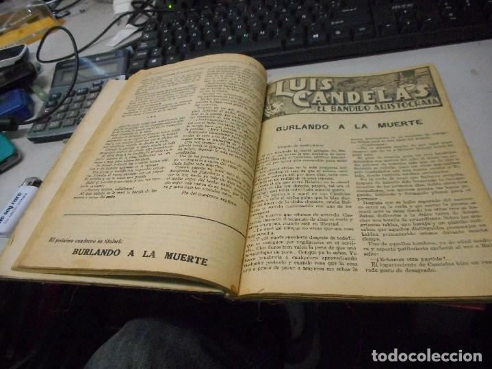 Libros antiguos: libro luis candelas el bandido aristocrata creo sobre 1890 16 cuadernos en un tomo - Foto 2 - 100368511