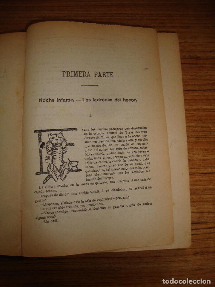 Libros antiguos: (TC-47) AMORES MALDITOS CAROLINA INVERNIZIO VERTIDA CASTELLANO JESUS PARDO CON EX LIBRIS 1911 - Foto 5 - 101044695