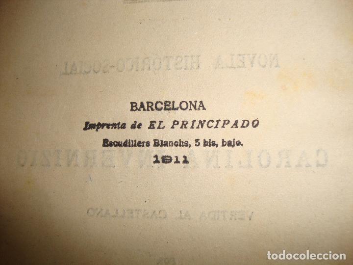 Libros antiguos: (TC-47) AMORES MALDITOS CAROLINA INVERNIZIO VERTIDA CASTELLANO JESUS PARDO CON EX LIBRIS 1911 - Foto 6 - 101044695