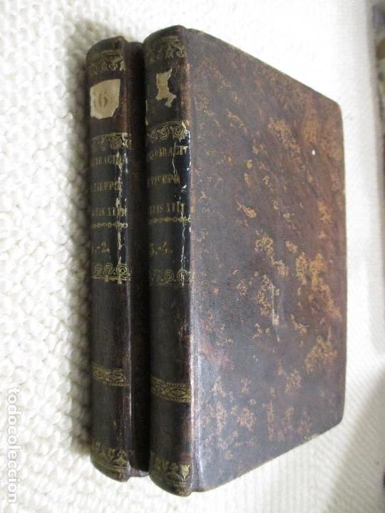 UNA CONSPIRACIÓN EN TIEMPO DE LUIS XIII POR EL CONDE ALFREDO DE VIGNY, 1839 PLENA PIEL, 1ª EDICIÓN (Libros antiguos (hasta 1936), raros y curiosos - Literatura - Narrativa - Novela Histórica)