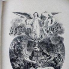 Livres anciens: L-2833. LA JERUSALEM LIBERTADA. TORCUATO TASSO. BARCELONA 1873. CON 12 LÁMINAS ORIGINALES.. Lote 102363775
