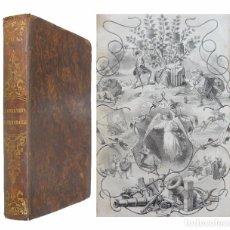 Libros antiguos: 1862 - BOFARULL: LA ORFANETA DE MENARGUES Ó CATALUNYA AGONISANT - ILUSTRADO CON LÁMINAS DE E. PLANAS. Lote 113885010