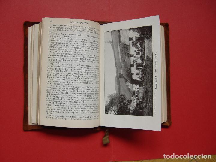 Libros antiguos: Blackmore: LORNA DOONE (Collins, Londres, c. 1920) 1ª ed. ¡ORIGINAL! ¡RARO! - Foto 8 - 108319727