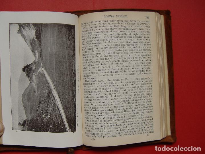 Libros antiguos: Blackmore: LORNA DOONE (Collins, Londres, c. 1920) 1ª ed. ¡ORIGINAL! ¡RARO! - Foto 9 - 108319727