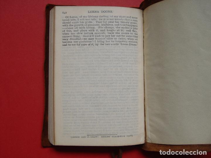 Libros antiguos: Blackmore: LORNA DOONE (Collins, Londres, c. 1920) 1ª ed. ¡ORIGINAL! ¡RARO! - Foto 10 - 108319727