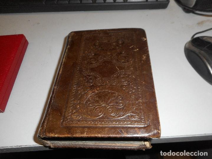 Libros antiguos: inedito y precioso libro 1857 impreso en la habana en piel muy buen estado - Foto 2 - 110128907