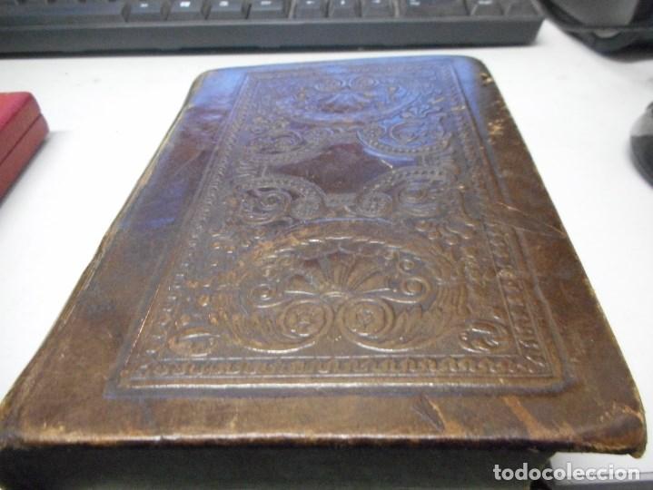 Libros antiguos: inedito y precioso libro 1857 impreso en la habana en piel muy buen estado - Foto 3 - 110128907