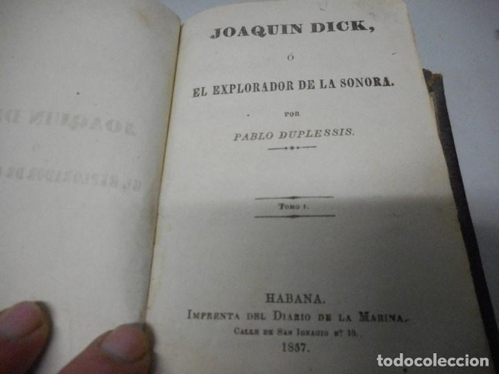 Libros antiguos: inedito y precioso libro 1857 impreso en la habana en piel muy buen estado - Foto 9 - 110128907