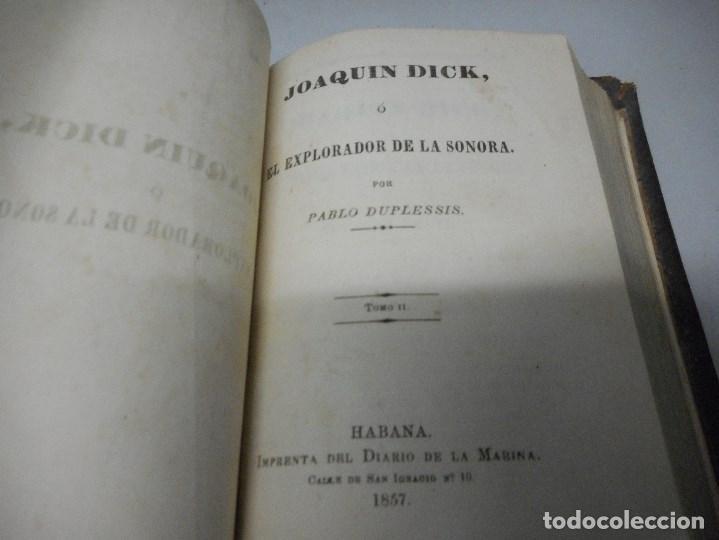 Libros antiguos: inedito y precioso libro 1857 impreso en la habana en piel muy buen estado - Foto 12 - 110128907