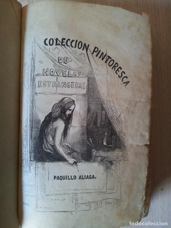Libros antiguos: M. EUGENIO SCRIBE - PAQUILLO ALIAGA, O LOS MORISCOS EN TIEMPO DE FELIPE III - TOMO II Y III - 1846 - Foto 3 - 111052511