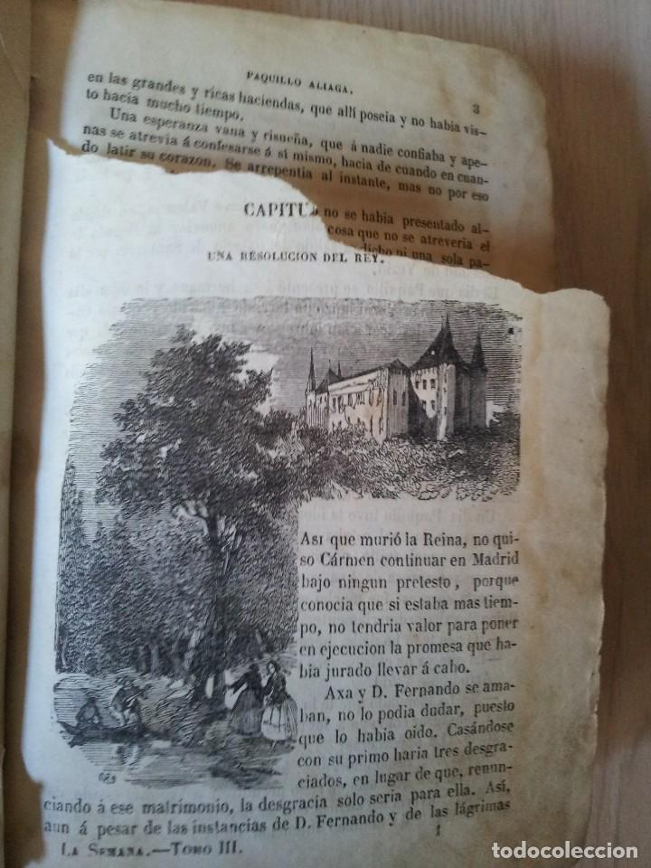 Libros antiguos: M. EUGENIO SCRIBE - PAQUILLO ALIAGA, O LOS MORISCOS EN TIEMPO DE FELIPE III - TOMO II Y III - 1846 - Foto 4 - 111052511