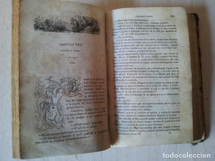 Libros antiguos: M. EUGENIO SCRIBE - PAQUILLO ALIAGA, O LOS MORISCOS EN TIEMPO DE FELIPE III - TOMO II Y III - 1846 - Foto 5 - 111052511