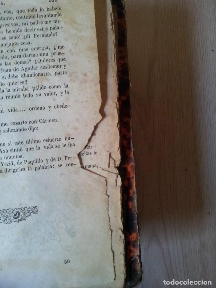 Libros antiguos: M. EUGENIO SCRIBE - PAQUILLO ALIAGA, O LOS MORISCOS EN TIEMPO DE FELIPE III - TOMO II Y III - 1846 - Foto 7 - 111052511