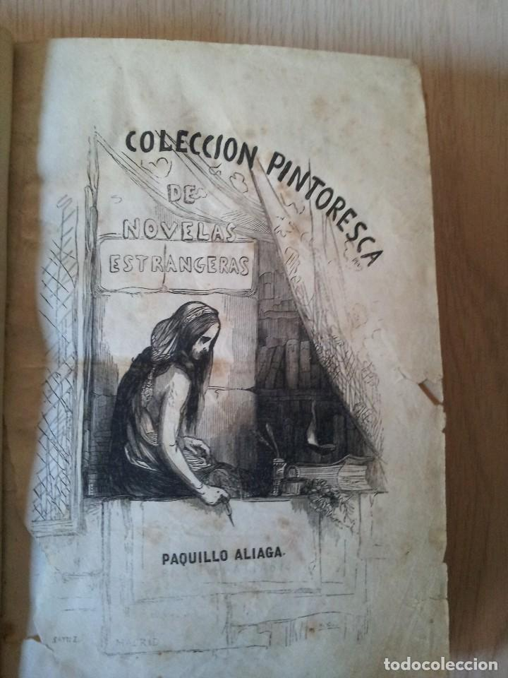 Libros antiguos: M. EUGENIO SCRIBE - PAQUILLO ALIAGA, O LOS MORISCOS EN TIEMPO DE FELIPE III - TOMO II Y III - 1846 - Foto 10 - 111052511