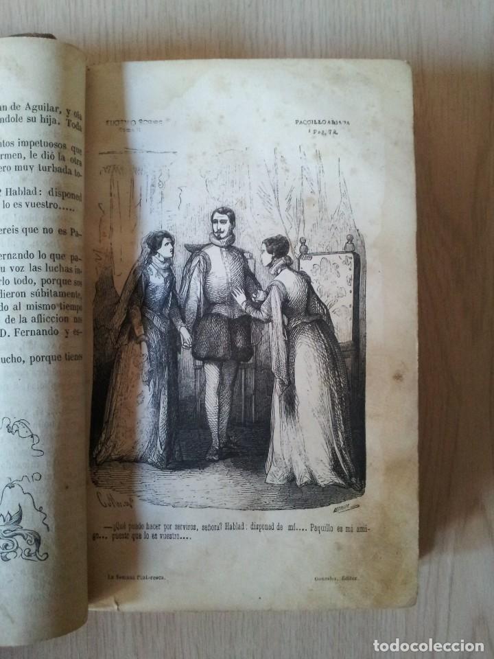 Libros antiguos: M. EUGENIO SCRIBE - PAQUILLO ALIAGA, O LOS MORISCOS EN TIEMPO DE FELIPE III - TOMO II Y III - 1846 - Foto 11 - 111052511