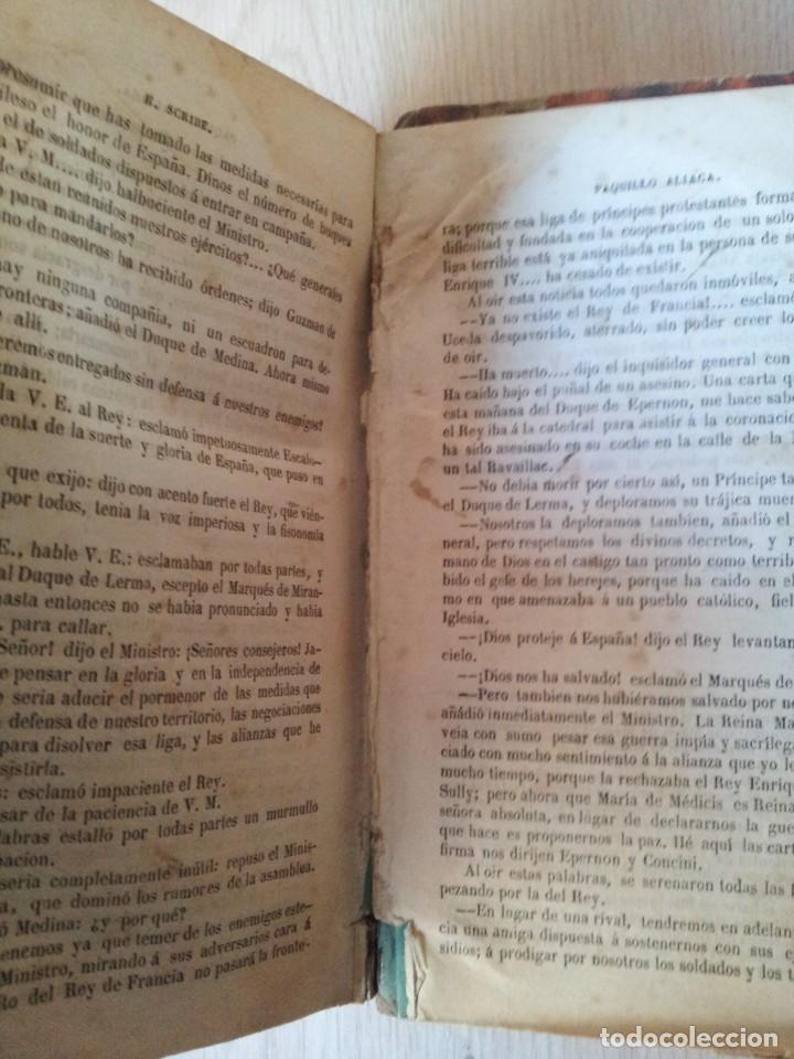 Libros antiguos: M. EUGENIO SCRIBE - PAQUILLO ALIAGA, O LOS MORISCOS EN TIEMPO DE FELIPE III - TOMO II Y III - 1846 - Foto 12 - 111052511