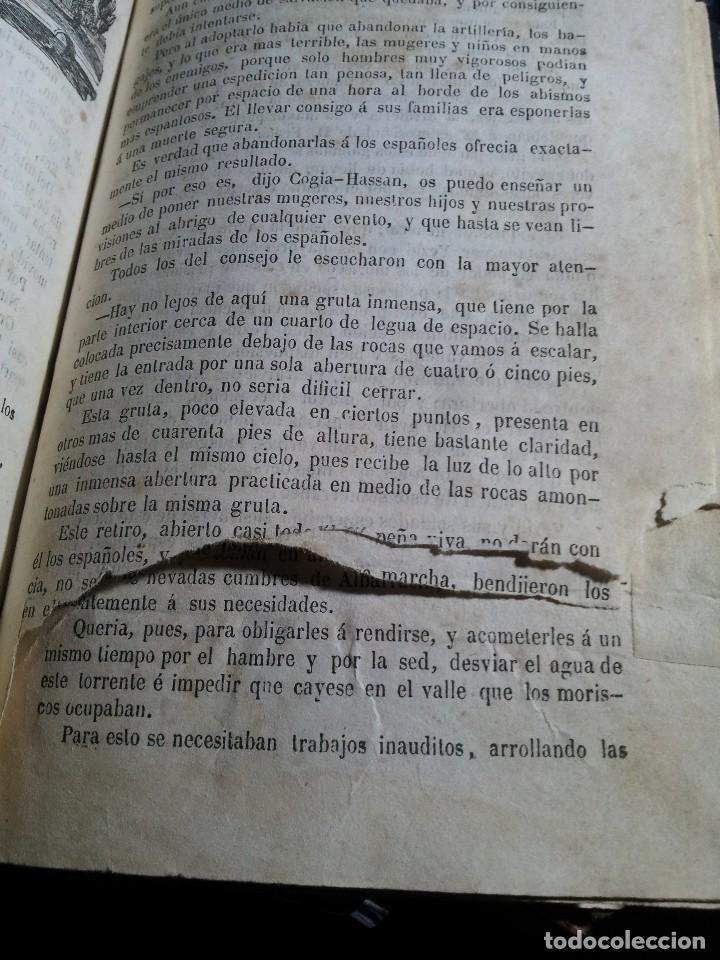 Libros antiguos: M. EUGENIO SCRIBE - PAQUILLO ALIAGA, O LOS MORISCOS EN TIEMPO DE FELIPE III - TOMO II Y III - 1846 - Foto 13 - 111052511