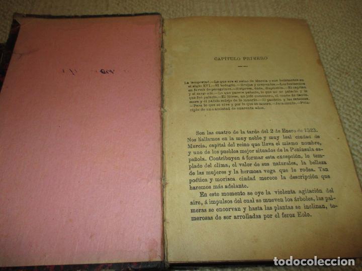 Libros antiguos: El héroe y el César, por Florencio Luis Parreño, 1886, con láminas cromolitográficas - Foto 3 - 112802751