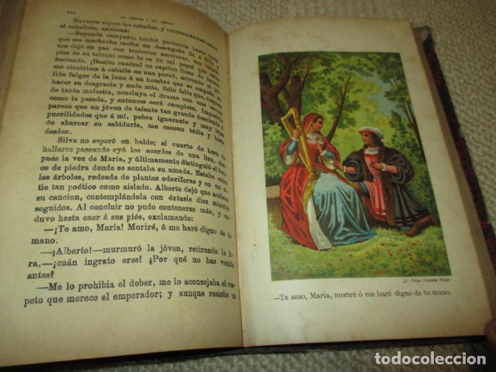 Libros antiguos: El héroe y el César, por Florencio Luis Parreño, 1886, con láminas cromolitográficas - Foto 5 - 112802751