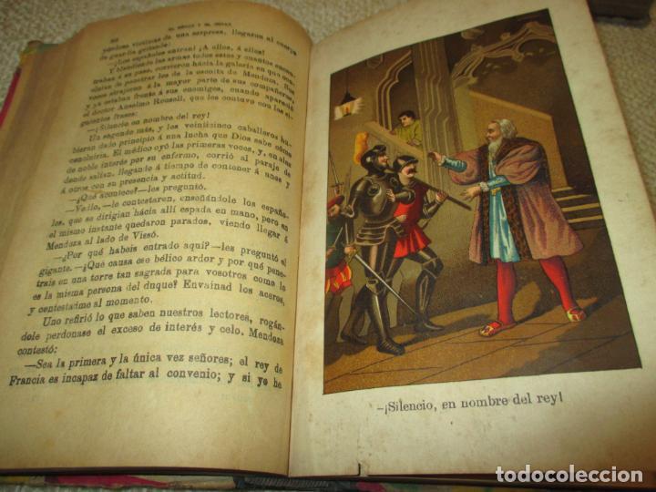 Libros antiguos: El héroe y el César, por Florencio Luis Parreño, 1886, con láminas cromolitográficas - Foto 7 - 112802751
