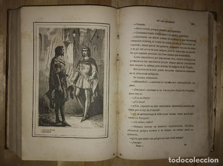 Libros antiguos: 1881 La torre de los crímenes o el suplicio de una reina. Novela histórica. Don Ramón R. Luna - Foto 4 - 114403339