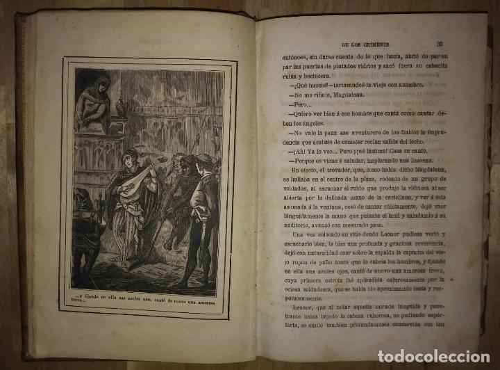 Libros antiguos: 1881 La torre de los crímenes o el suplicio de una reina. Novela histórica. Don Ramón R. Luna - Foto 6 - 114403339