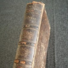 Libros antiguos: QUEVEDO, NOVELA HISTÓRICA DE FRANCISCO J. ORELLANA (1860) - CON FALTAS. Lote 114688443