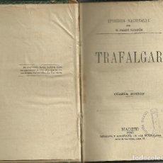 Libros antiguos: EPISODIOS NACIONALES,1ªSERIE,4ªED.MADRID,LA GUIRNALDA 1883. 10 LIBROS EN 5 VOLÚMENES.. Lote 115140475