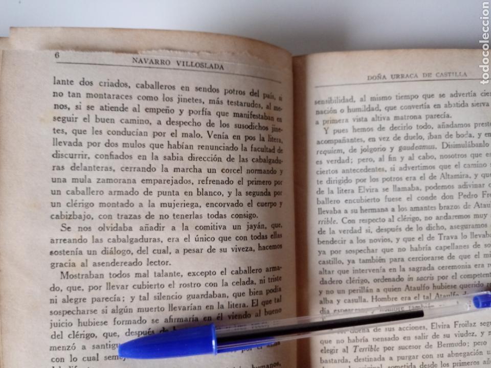 Libros antiguos: Doña Urraca de Castilla. Memoria tres canónigos. Navarro Villoslada. Tomo II Madrid 1928 - Foto 5 - 115477135