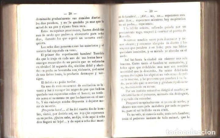 Libros antiguos: ALEJANDRO DUMAS : LA MANO DEL MUERTO (1867) - Foto 2 - 116244739