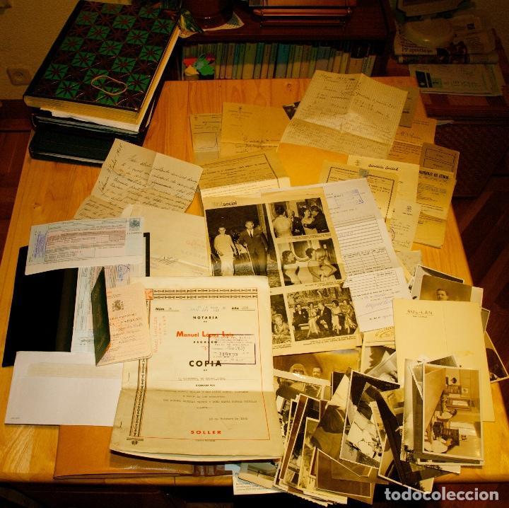 Libros antiguos: MIL FOTOS, DOCUMENTOS, CUADRO CON 50 FIRMAS. ARCHIVO MARTA PORTAL. PREMIO PLANETA 1966. EXCEPCIONAL - Foto 6 - 116459547