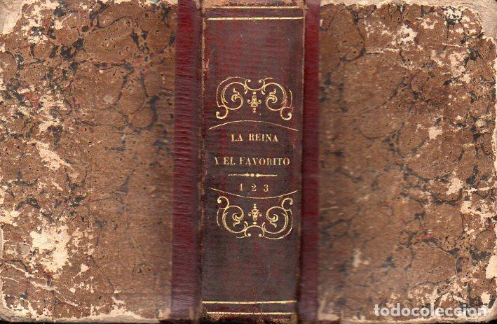 STRUENSEE O LA REINA Y EL FAVORITO (FREXAS, 1850) TRES TOMOS EN UN VOLUMEN (Libros antiguos (hasta 1936), raros y curiosos - Literatura - Narrativa - Novela Histórica)