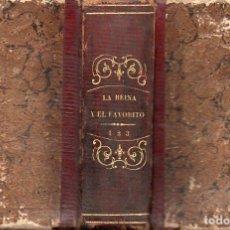 Libros antiguos: STRUENSEE O LA REINA Y EL FAVORITO (FREXAS, 1850) TRES TOMOS EN UN VOLUMEN. Lote 116466063