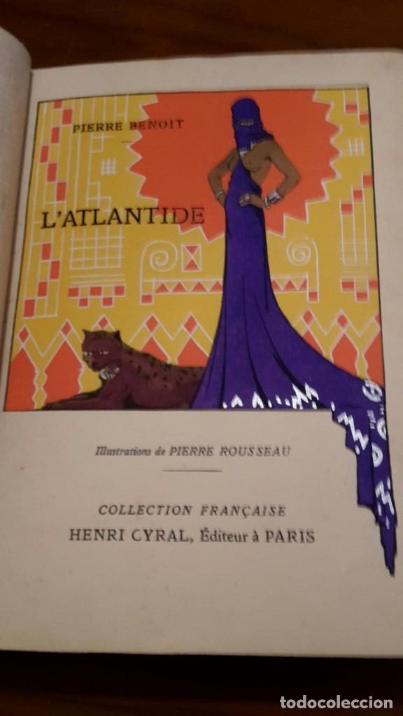 PIERRE BENOIT . L' ATLANTIDE,1930,DEDICADO A MRA.EVA DUARTE DE PERON,(EVITA),UNICO. (Libros antiguos (hasta 1936), raros y curiosos - Literatura - Narrativa - Novela Histórica)