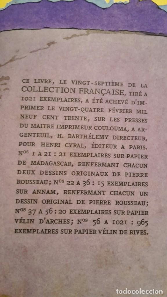 Libros antiguos: Pierre Benoit . L' Atlantide,1930,dedicado a Mra.Eva Duarte de Peron,(EVITA),unico. - Foto 15 - 116472635
