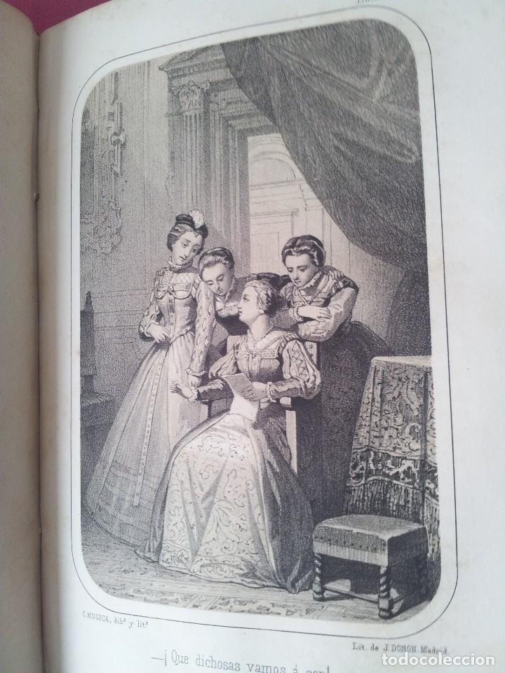 Libros antiguos: D. FLORENCIO LUIS PARREÑO - LA INQUISICION, EL REY Y EL NUEVO MUNDO - 2 TOMOS -1864/1865 - Foto 4 - 116867007