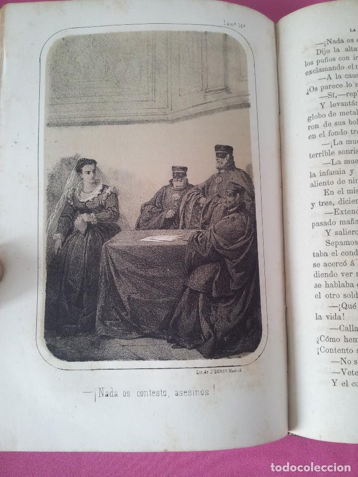 Libros antiguos: D. FLORENCIO LUIS PARREÑO - LA INQUISICION, EL REY Y EL NUEVO MUNDO - 2 TOMOS -1864/1865 - Foto 7 - 116867007