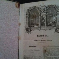 Libros antiguos: MANUEL GIL.POR MANUEL FERNANDEZ GONZALEZ.GASPAR Y ROIG.1854. Lote 116940011