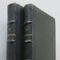 Libros antiguos: LOS DESHEREDADOS - DESVENTURAS DE LA VIDA - 2 TOMOS - AÑO 1865. Lote 117036587