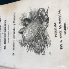 Libros antiguos: FERNANDEZ Y GONZALEZ. D. JUAN EL SEGUNDO O EL BUFON DEL REY. . Lote 117201271