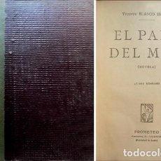 Libros antiguos: BLASCO IBÁÑEZ, VICENTE. EL PAPA DEL MAR. NOVELA. 1925.. Lote 119168003